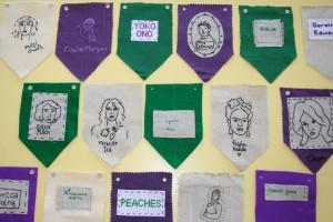 baneri suffragettes